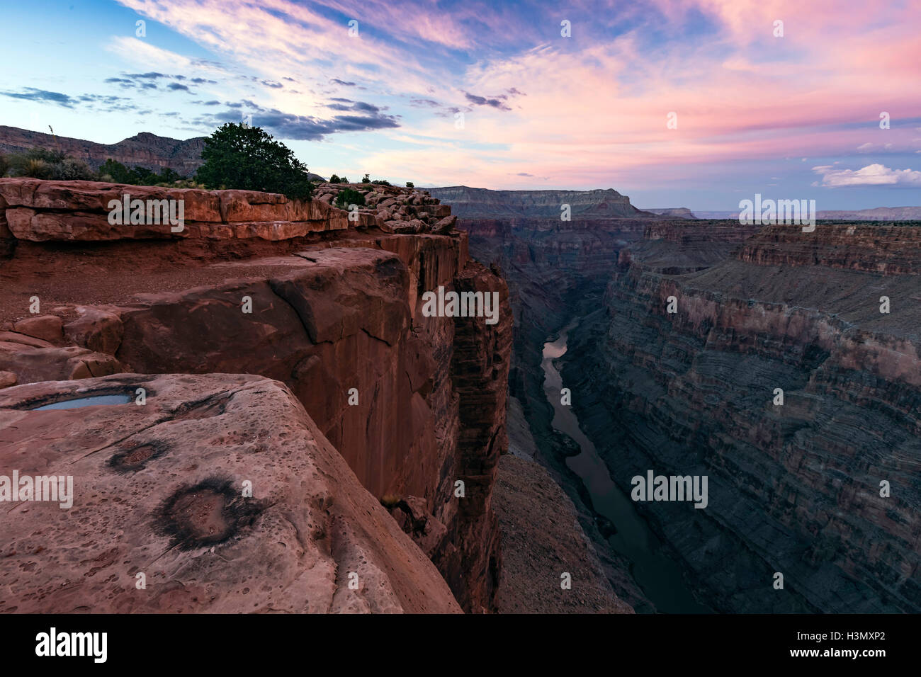 Toroweap Overlook, Grand Canyon, Toroweap, Utah, USA - Stock Image