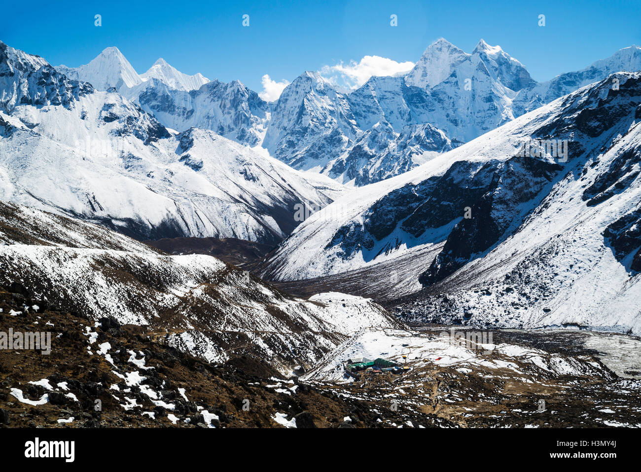 Mount Everest Trek, Nepal - Stock Image