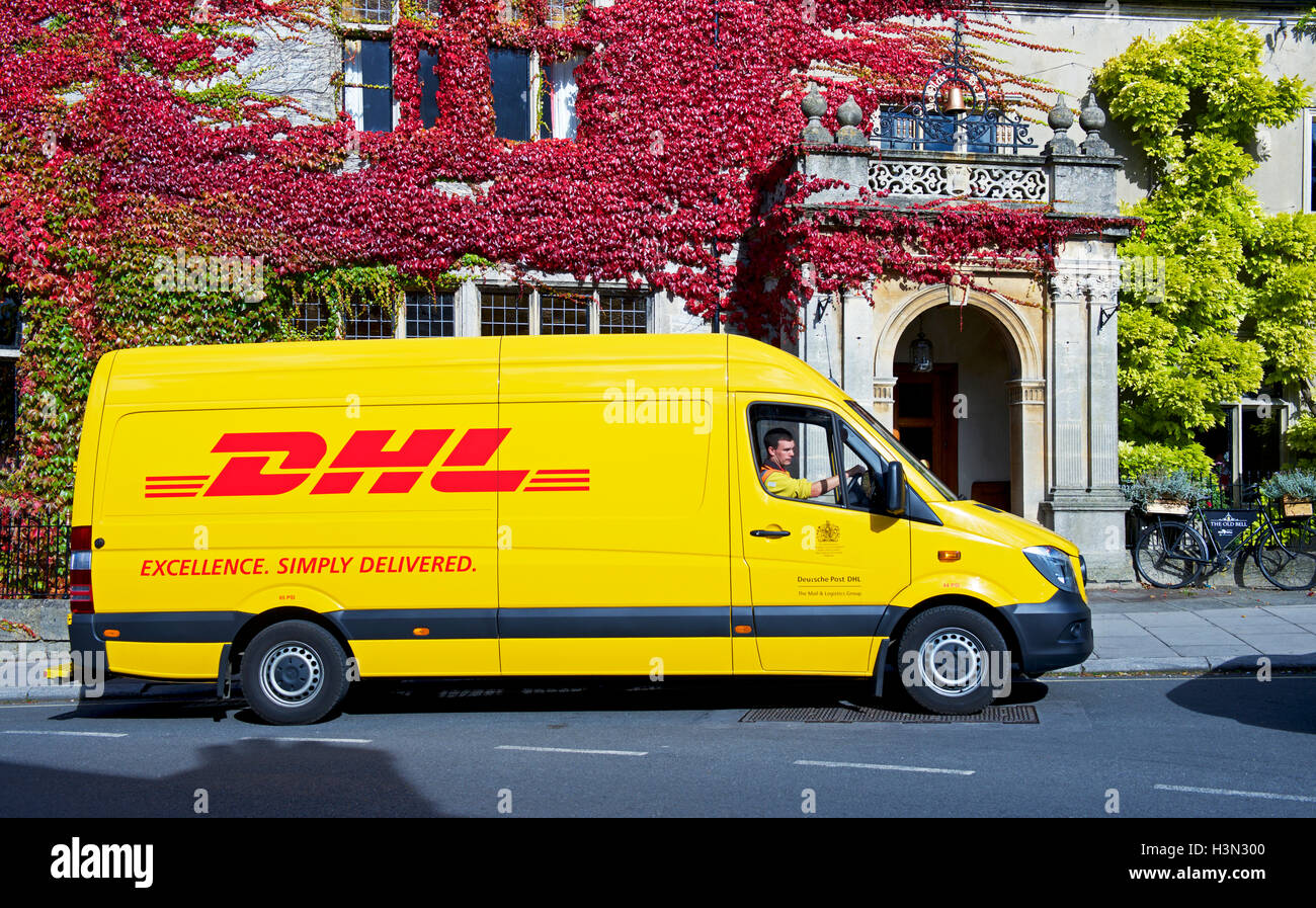 e449d06ef5537d Dhl Delivery Van Stock Photos   Dhl Delivery Van Stock Images - Alamy
