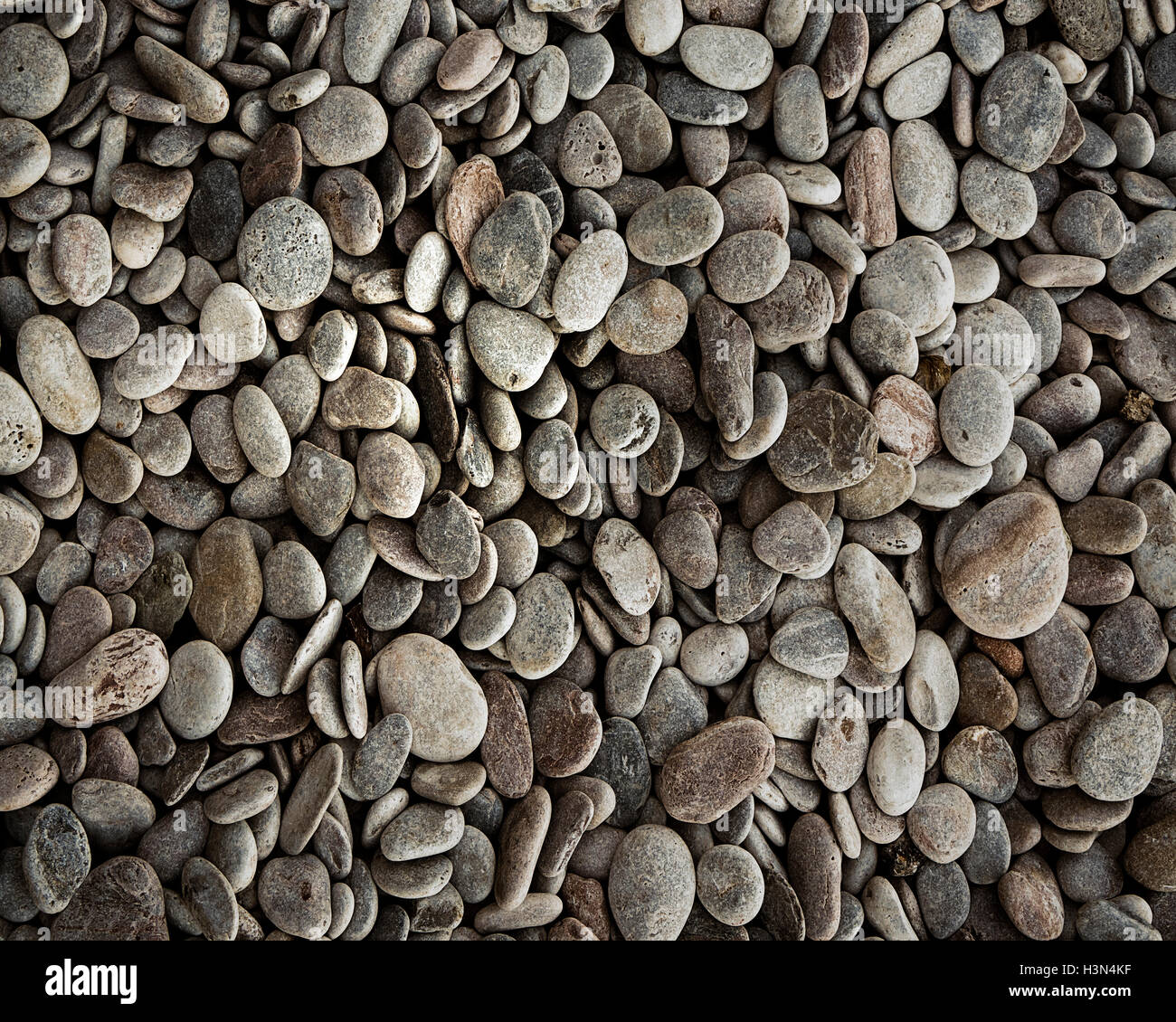 GIFT WRAP DESIGN: Pebbles - Stock Image