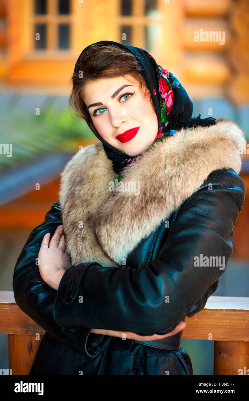 eea860ff7b3 Russia Fur Coat Stock Photos   Russia Fur Coat Stock Images - Page 2 ...