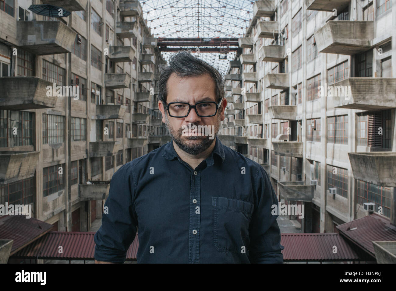 New York, Us. 11th Oct, 2016. HANDOUT - The undated handout photo shows the the artist Pedro Reyes in New York, Stock Photo