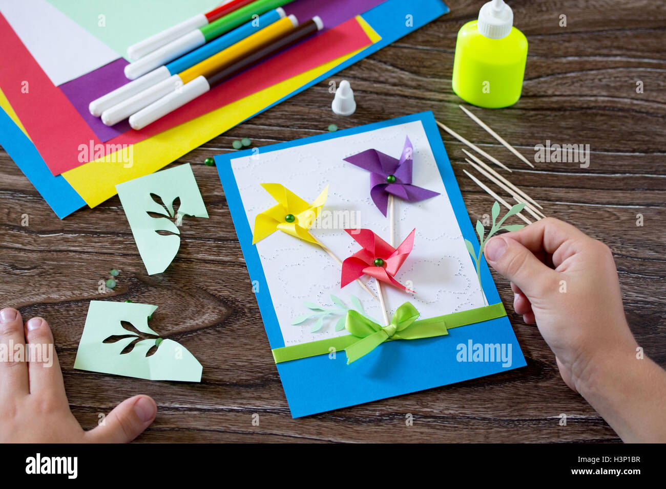 Birthday Greeting Card Concept Stock Photos Birthday Greeting Card
