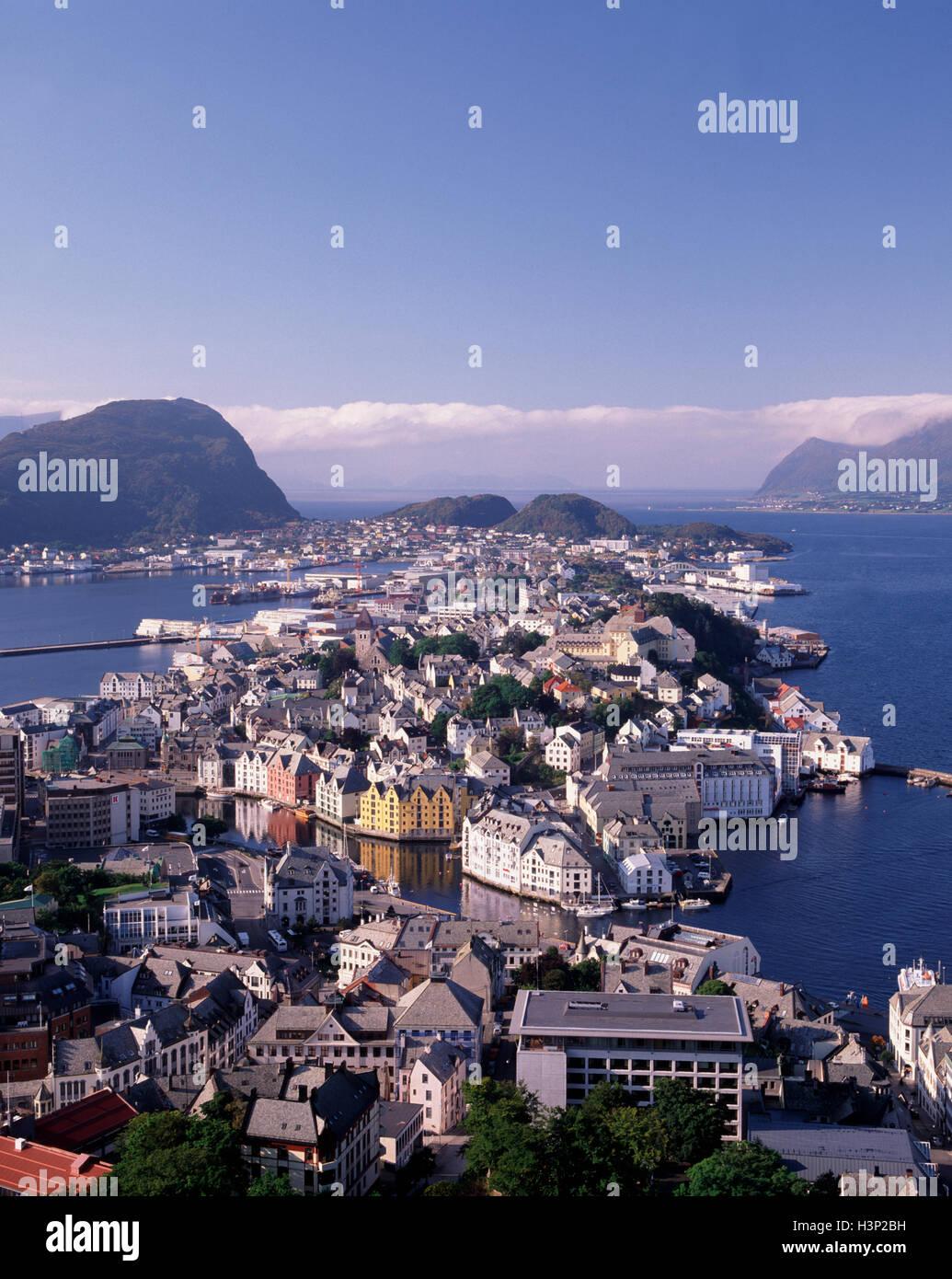 Aalesund, More og Romsdal, Norway Stock Photo