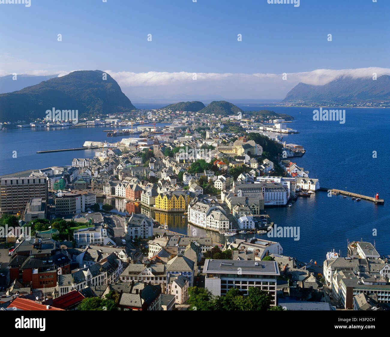 Aalesund, More og Romsdal, Norway Stock Photo