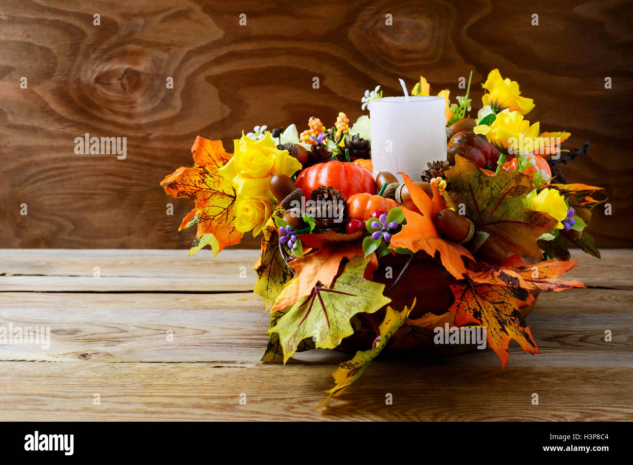 decorating with ideas table thanksgiving decor candle