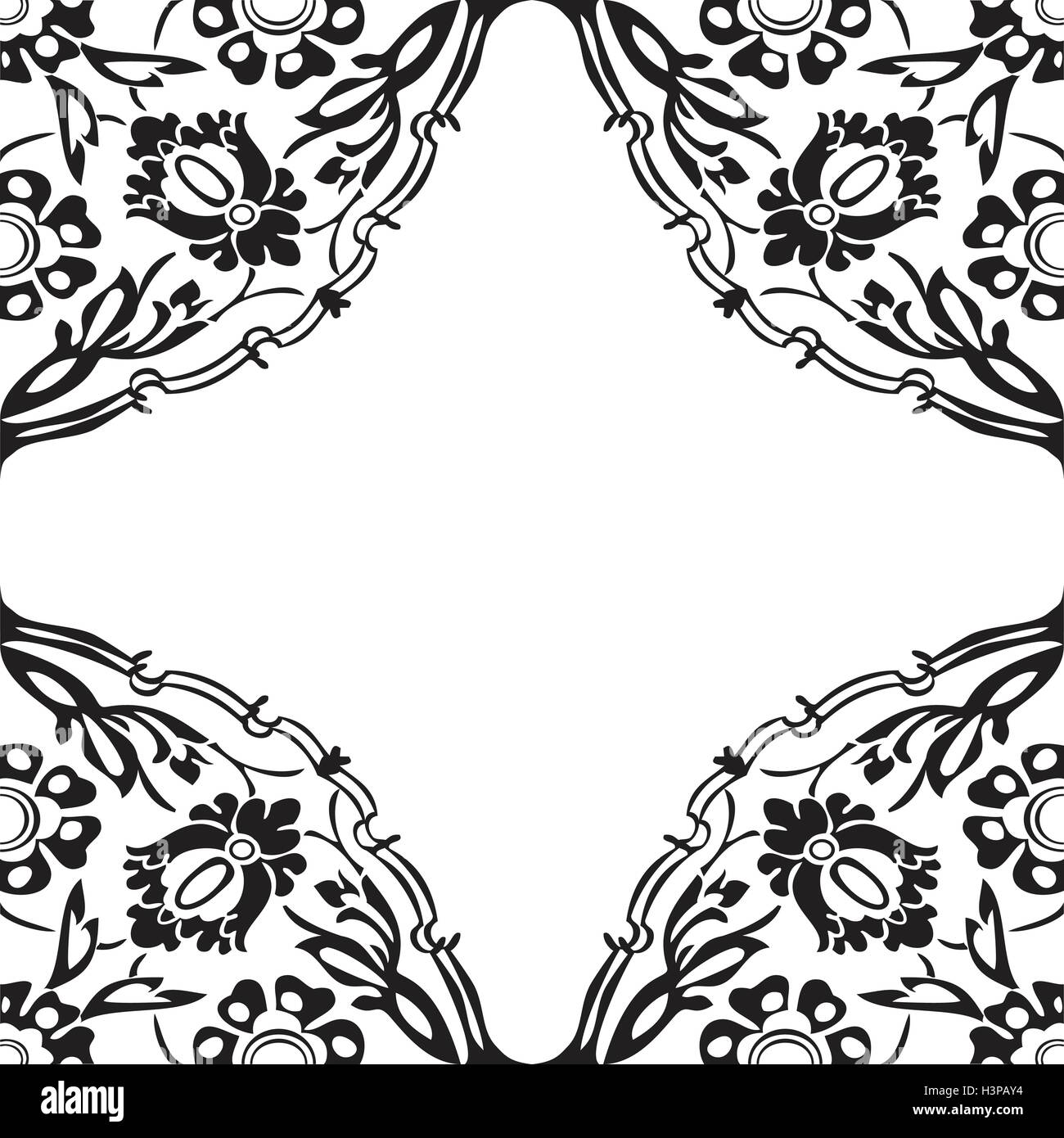 black and white round floral border corner abstract background vector stock vector image art alamy https www alamy com stock photo black and white round floral border corner abstract background vector 122808088 html