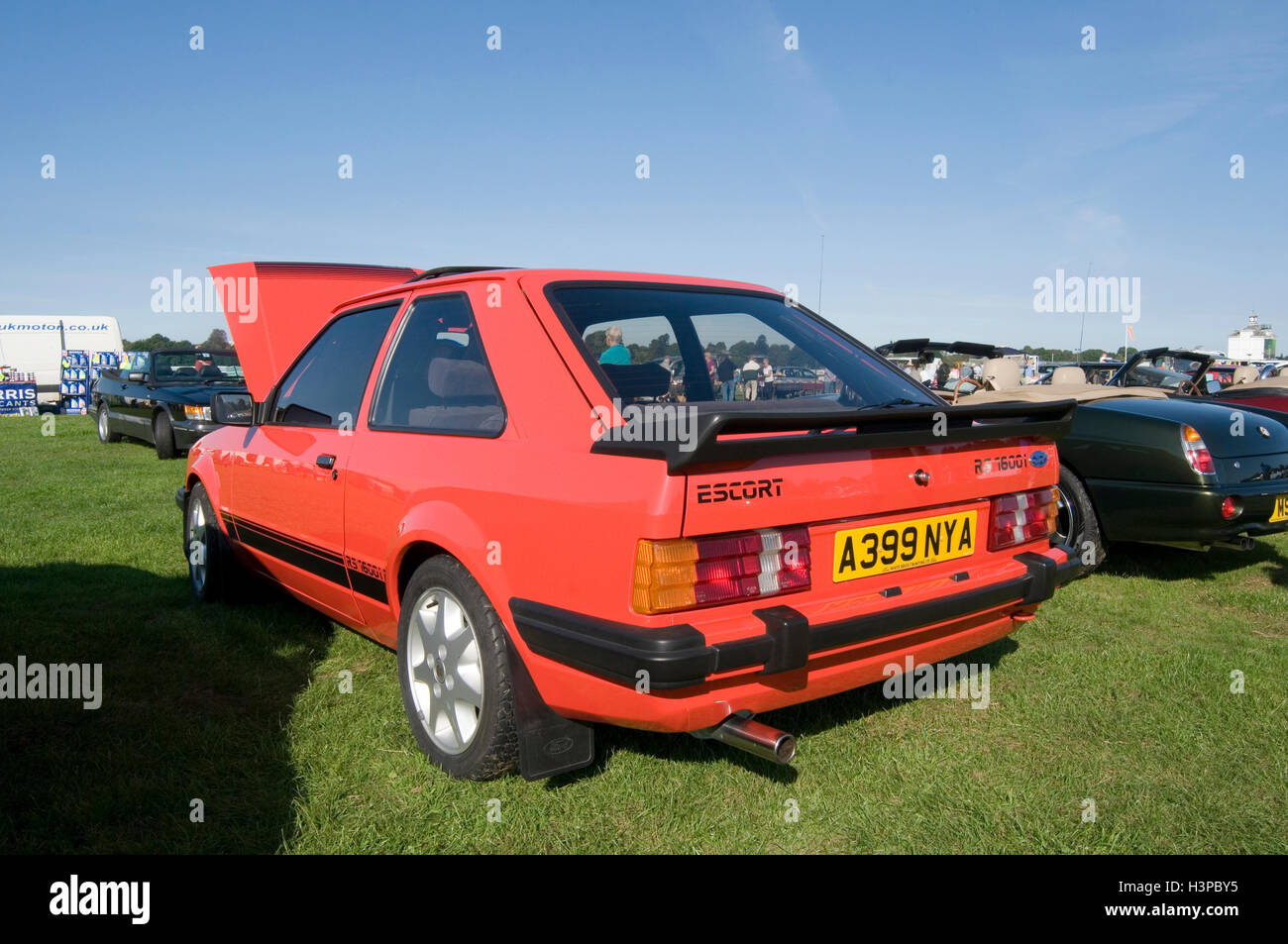 ford escort XR3 XR3i hot hatch hatchback 80s 1980s - Stock Image