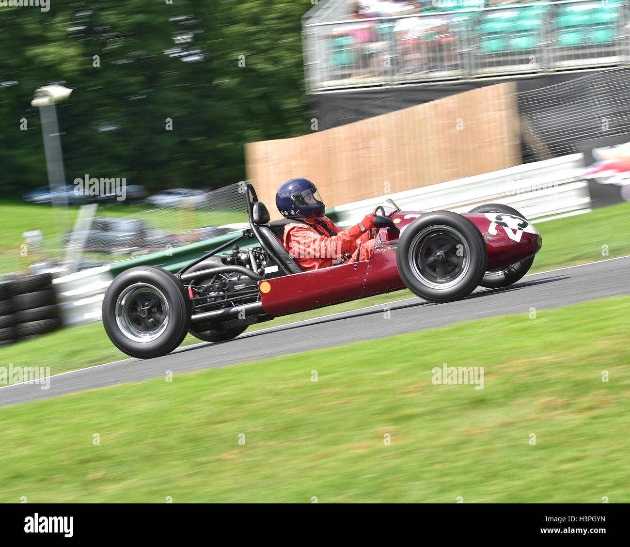 Kerry Horan, Trenberth Single Seater, F3 500cc Racing Cars, VSCC, Shuttleworth Trophy, Nuffield Trophy, Cadwell - Stock Image