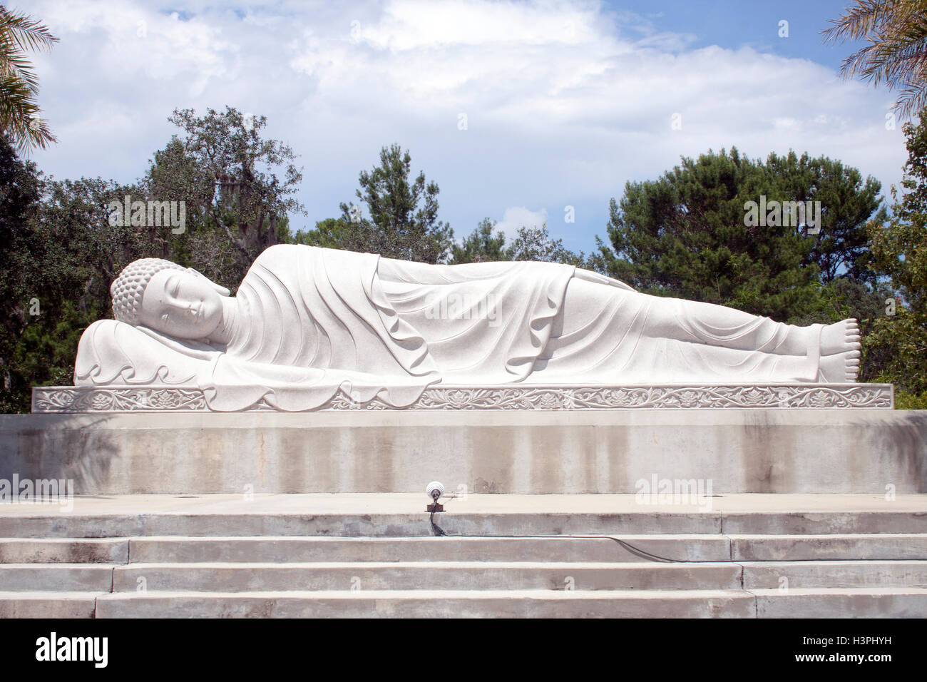 Giant Buddhas in Mims Florida - Stock Image