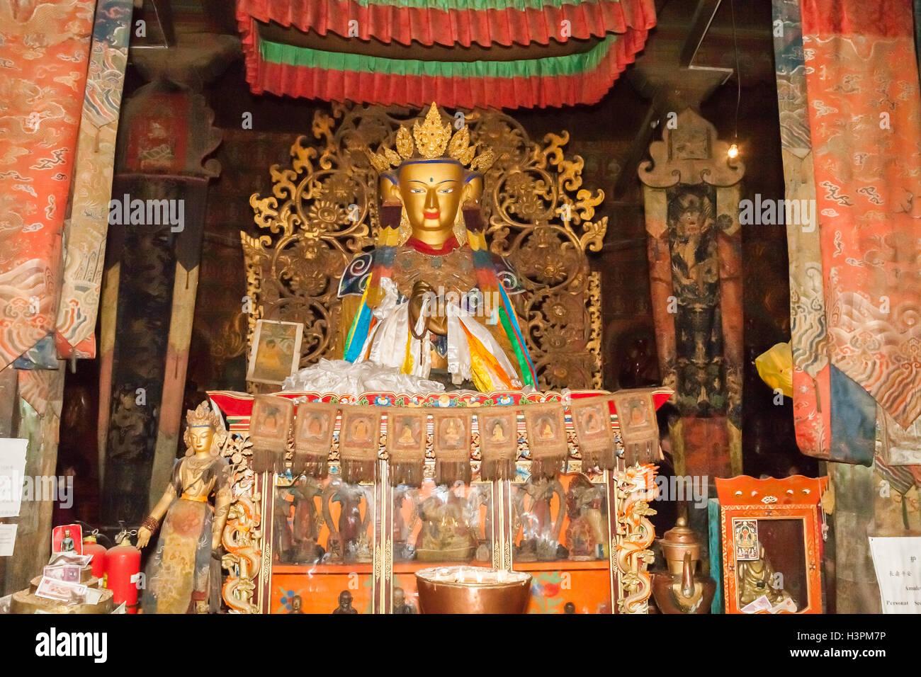 Gyangtse Monastery, Tibet - Stock Image