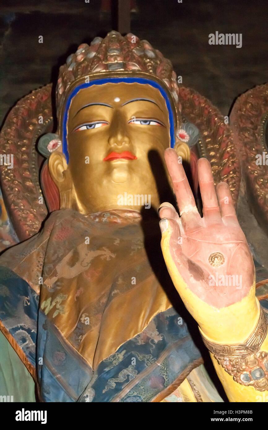 Gyangtse Monastery, Tibet. - Stock Image