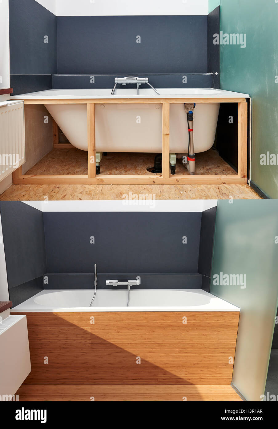 Remodeling Bathroom Stock Photos Remodeling Bathroom Stock Images - Steps to redoing a bathroom