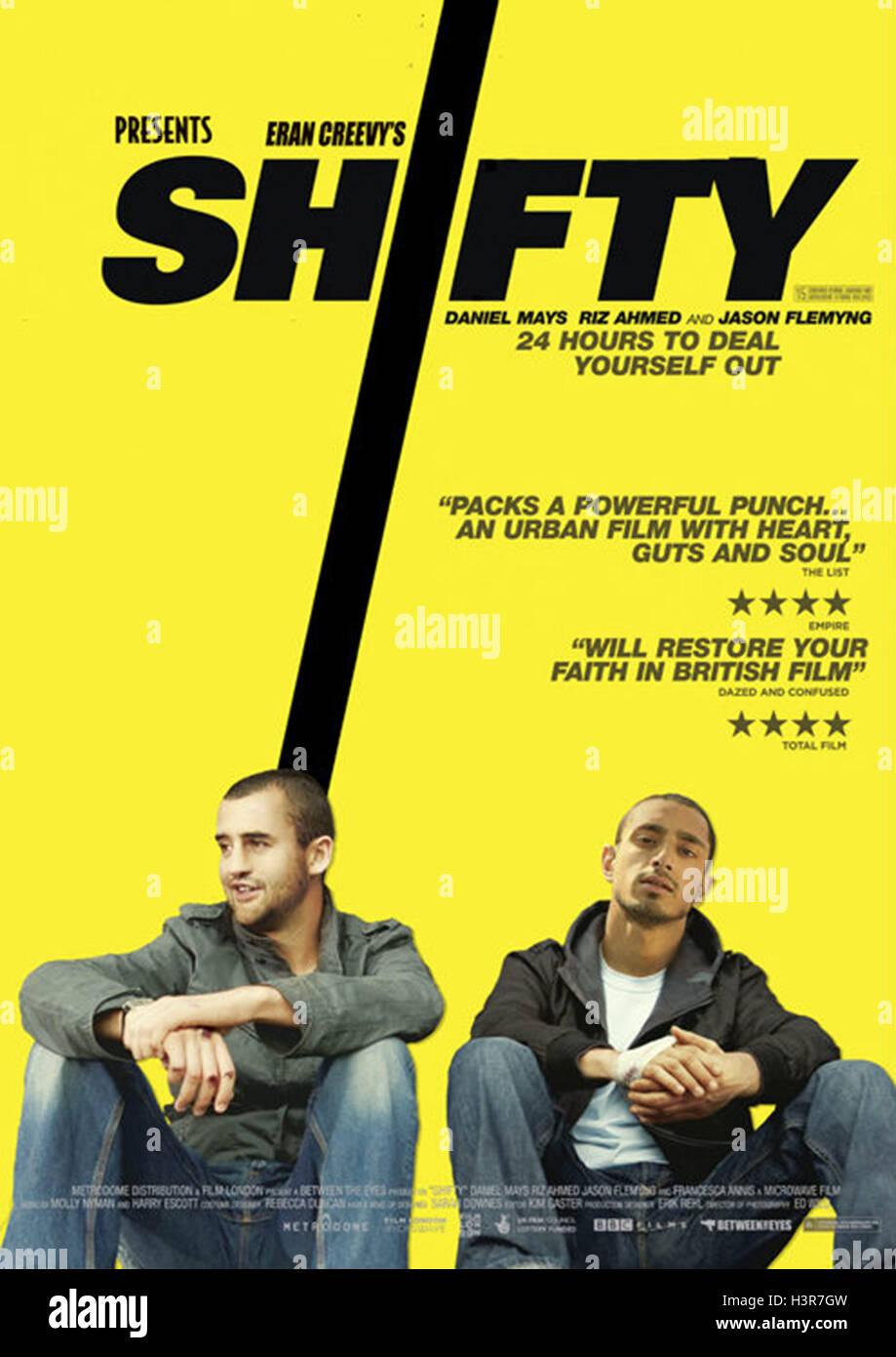 SHIFTY (2008)  DANIEL MAYS  RIZ AHMED  ERAN CREEVY (DIR)  MOVIESTORE COLLECTION LTD - Stock Image