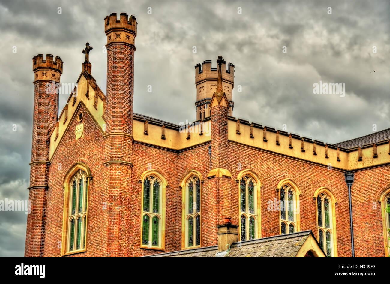Saint Malachy Church in Belfast - Northern Ireland Stock Photo