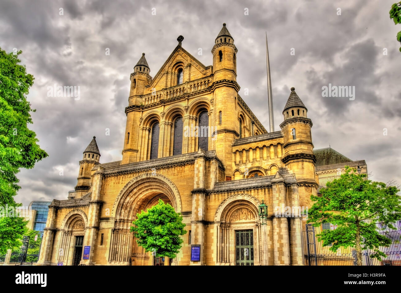 St Anne Cathedral in Belfast - Northern Ireland - Stock Image
