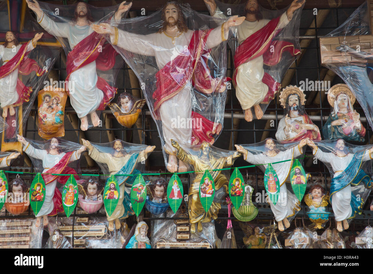 Models of Jesus - Stock Image