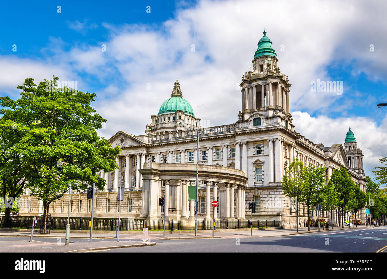 Belfast City Hall - Northern Ireland, United Kingdom - Stock Image