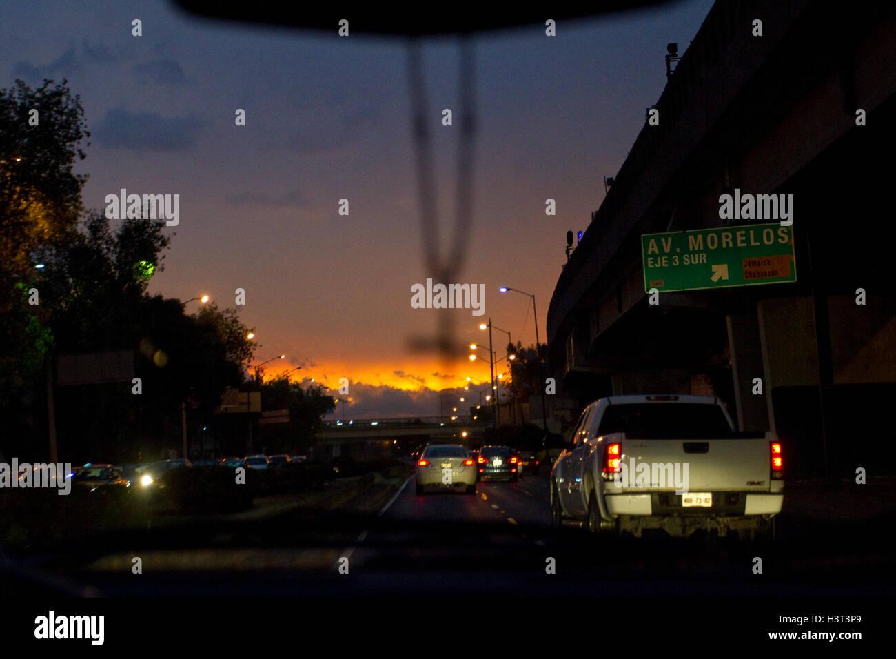 Mexico City. Stock Photo