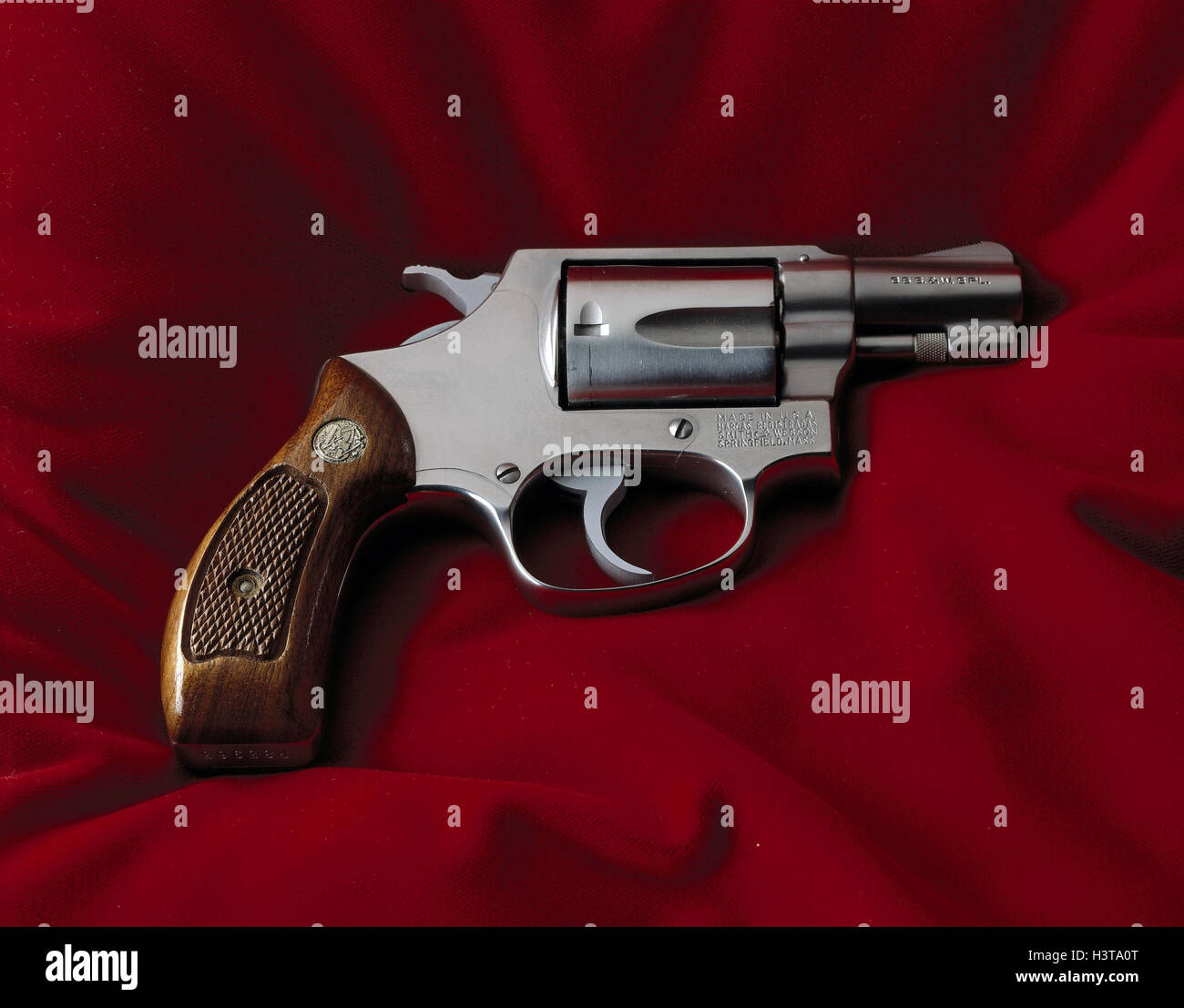 Revolvers, Smith & Wesson colt, 38 Specially, Still life, product photography, weapon, weapons, firearm, fist firearm, Stock Photo