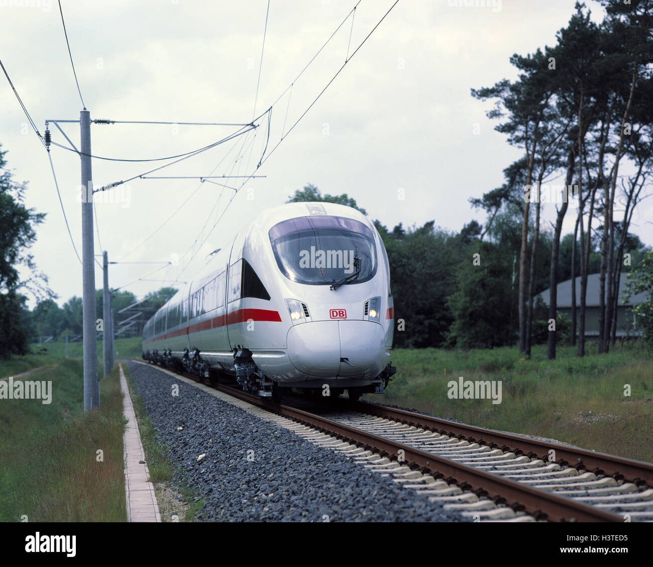 ICT, (the newest intercity express generation with Neigetechnik, commissioning: Summer, 1999) - Stock Image