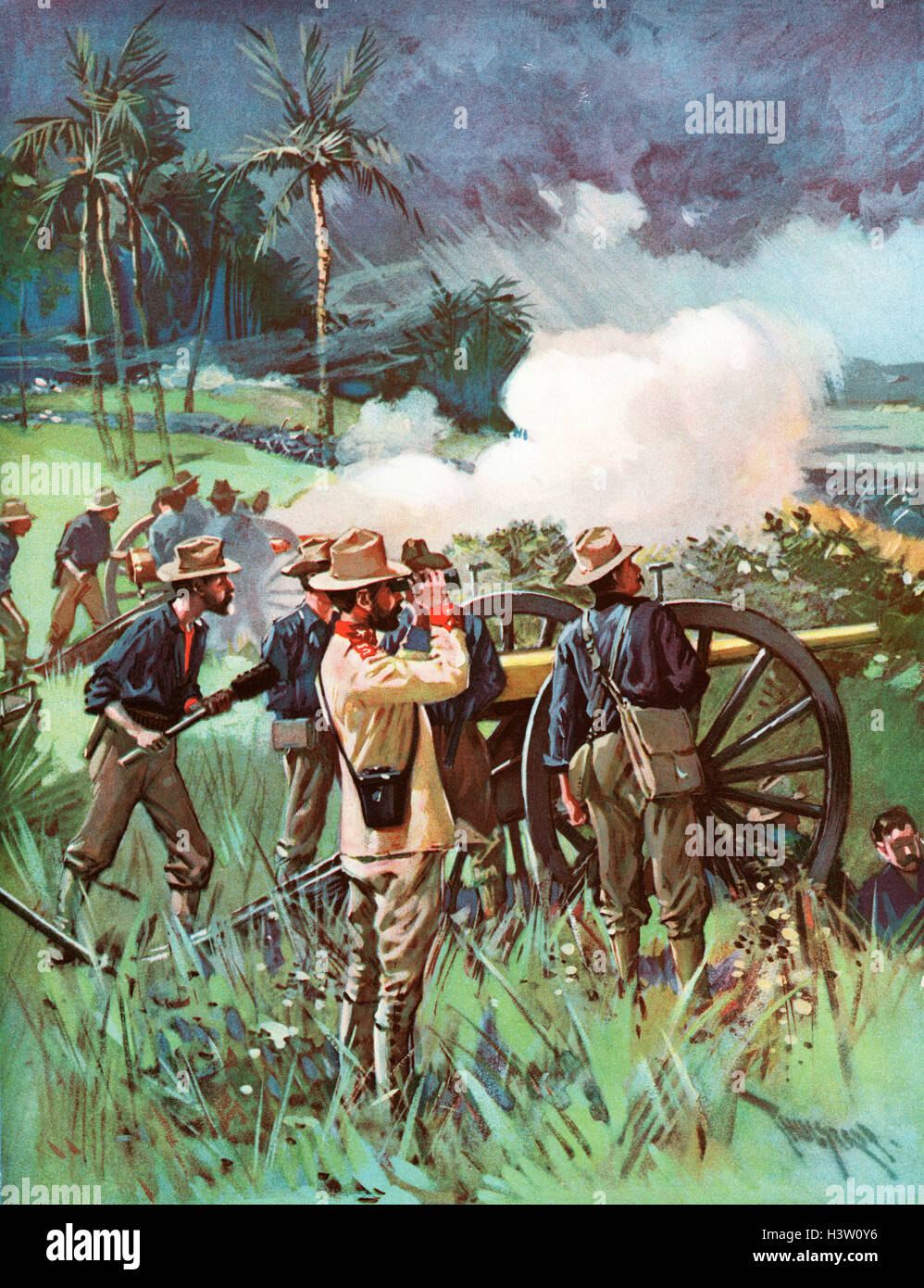 cuban rebellion the spanish american war Find out more about the history of spanish-american war,  the war originated in the cuban  spain's brutally repressive measures to halt the rebellion.