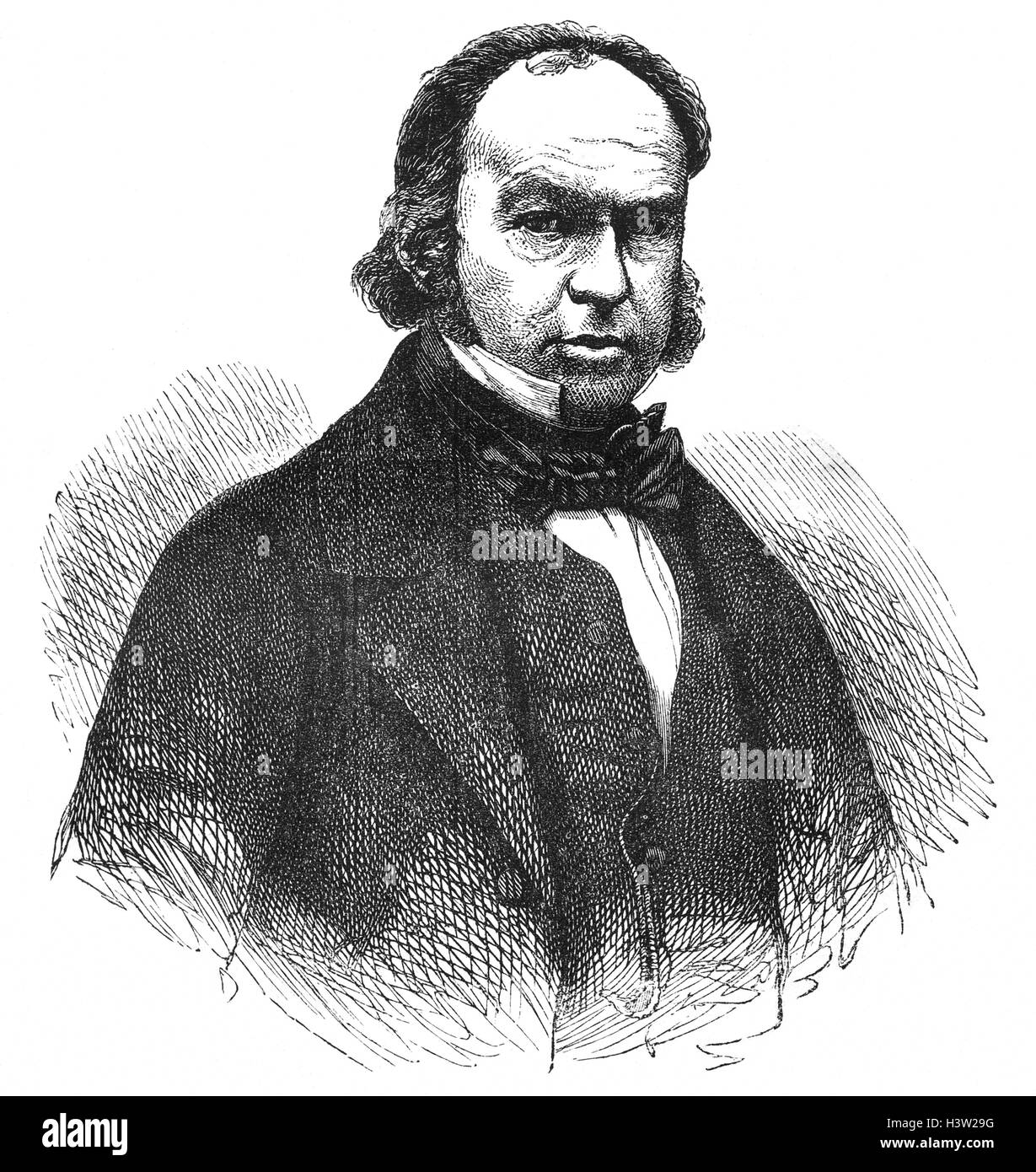 Isambard Kingdom Brunel (1806 – 1859), was an English mechanical and civil engineer who is considered 'one of - Stock Image