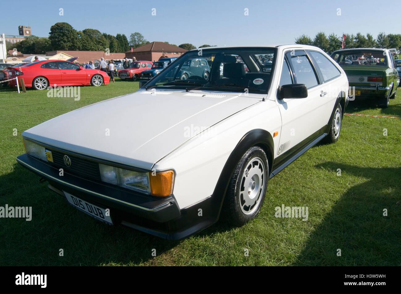 vw sirocco volkswagen 2 door coupe 80s 1980s - Stock Image