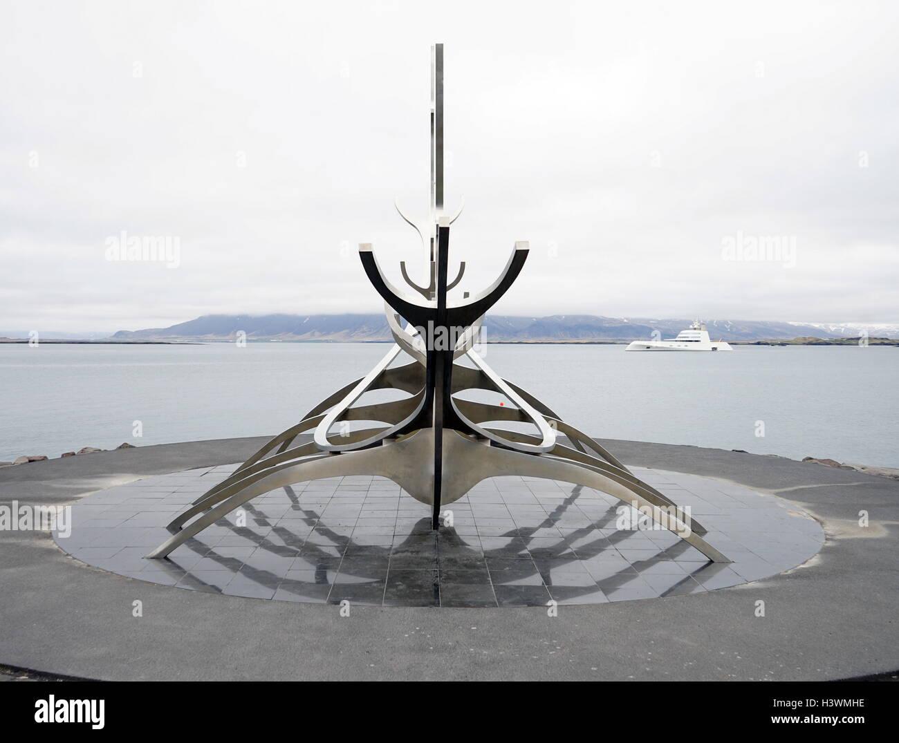 Sun Voyager by Jón Gunnar Árnason - Stock Image