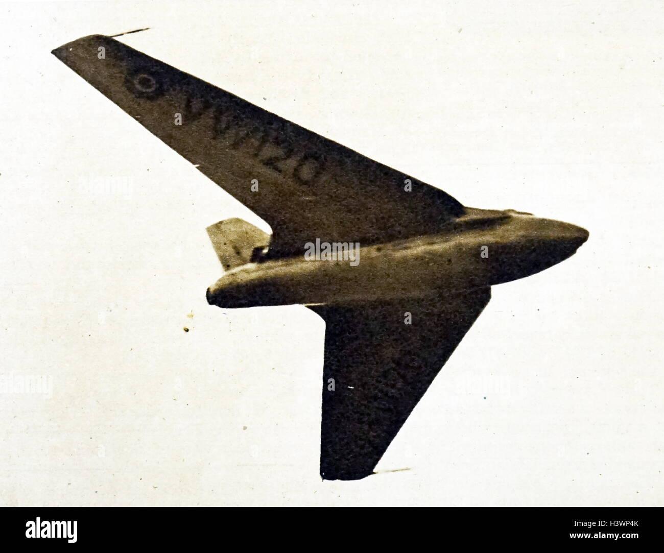 Photograph of a de Havilland DH 108 - Stock Image