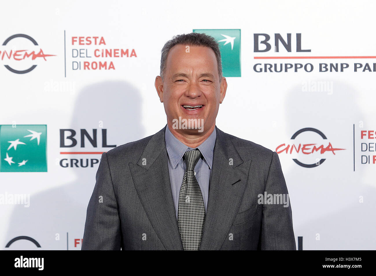 Rome, Italy. 13th Oct, 2016. Tom Hanks Rome 13th October 2016. Rome Film Fest XI edition. Foto Samantha Zucchi Insidefoto - Stock Image