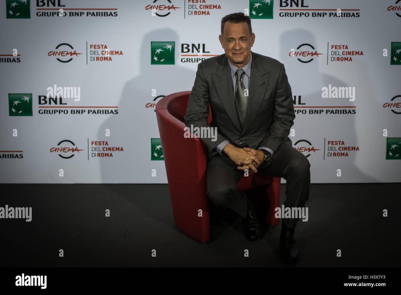 Rome, Italy. 13th October, 2016. Rome Film Festival 11 edition  the pictured Tom Hanks Credit:  Andrea Ronchini/Alamy - Stock Image