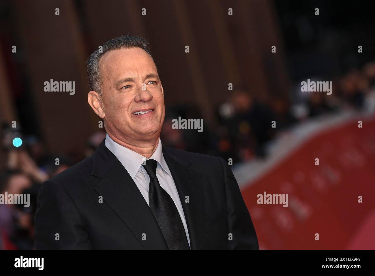 Italy, Rome, 13 October 2016 : Tom Hanks at the red carpet at the Rome Film Festival 2016    Photo Credit:  Fabio - Stock Image