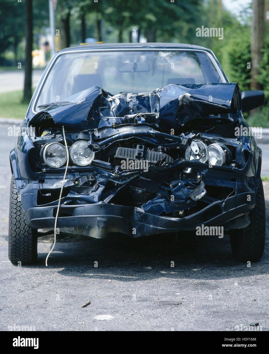 Accident, Traffic, Ambulance, Total Loss Passenger Car