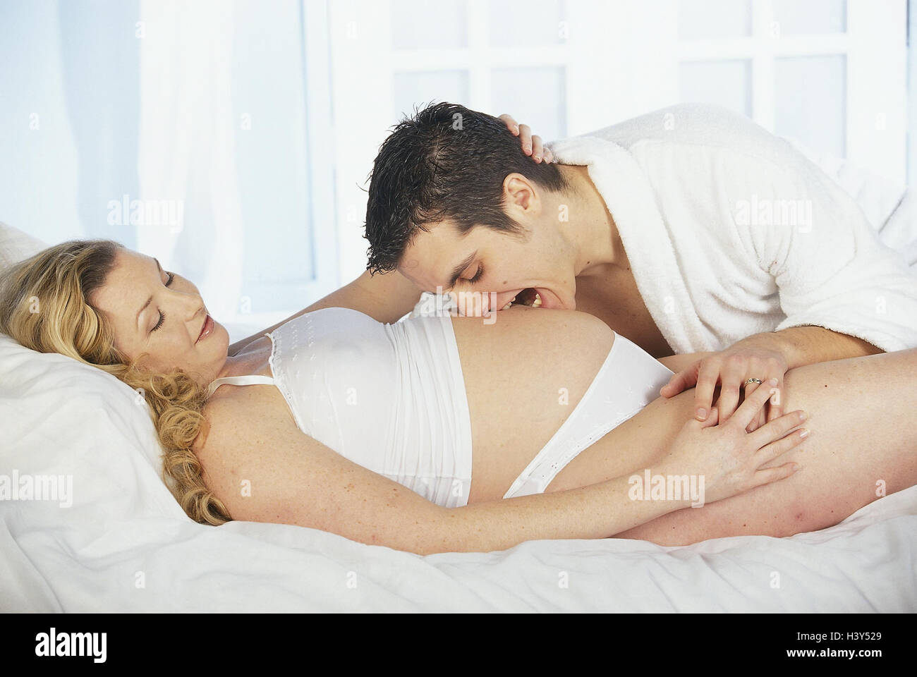where to touch a woman in bed