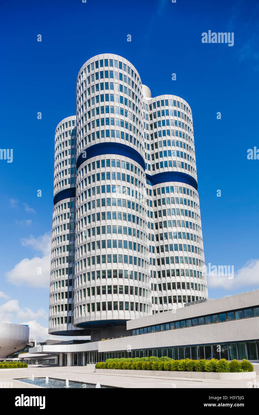 Germany, Bavaria, Munich, BMW Headquarters - Stock Image