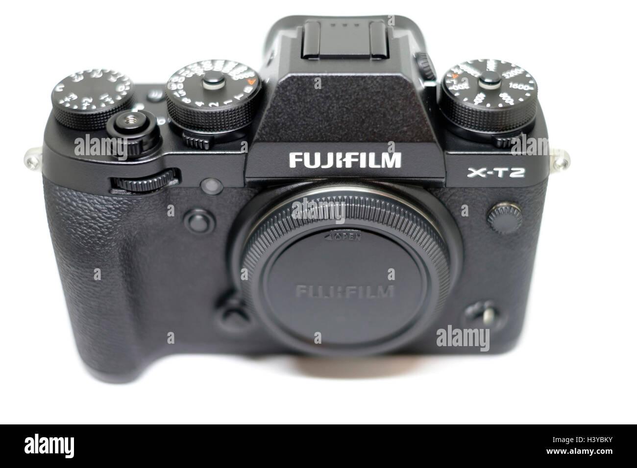 Fujifilm X-T2 digital mirrorless camera - Stock Image