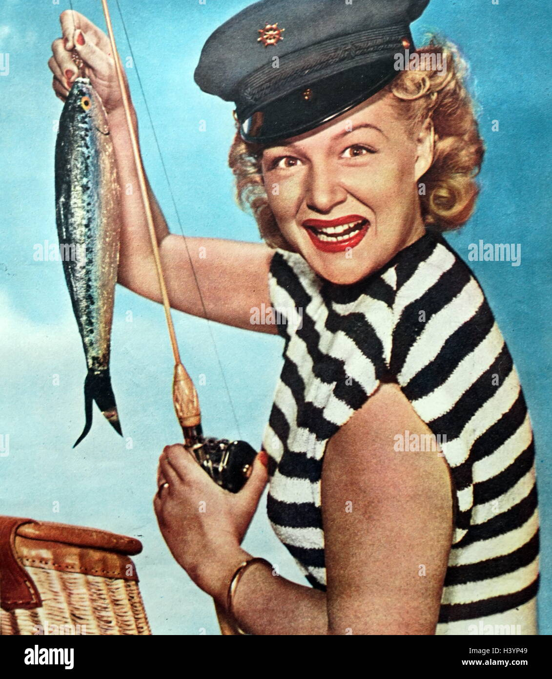 Photograph of Betty Hutton - Stock Image