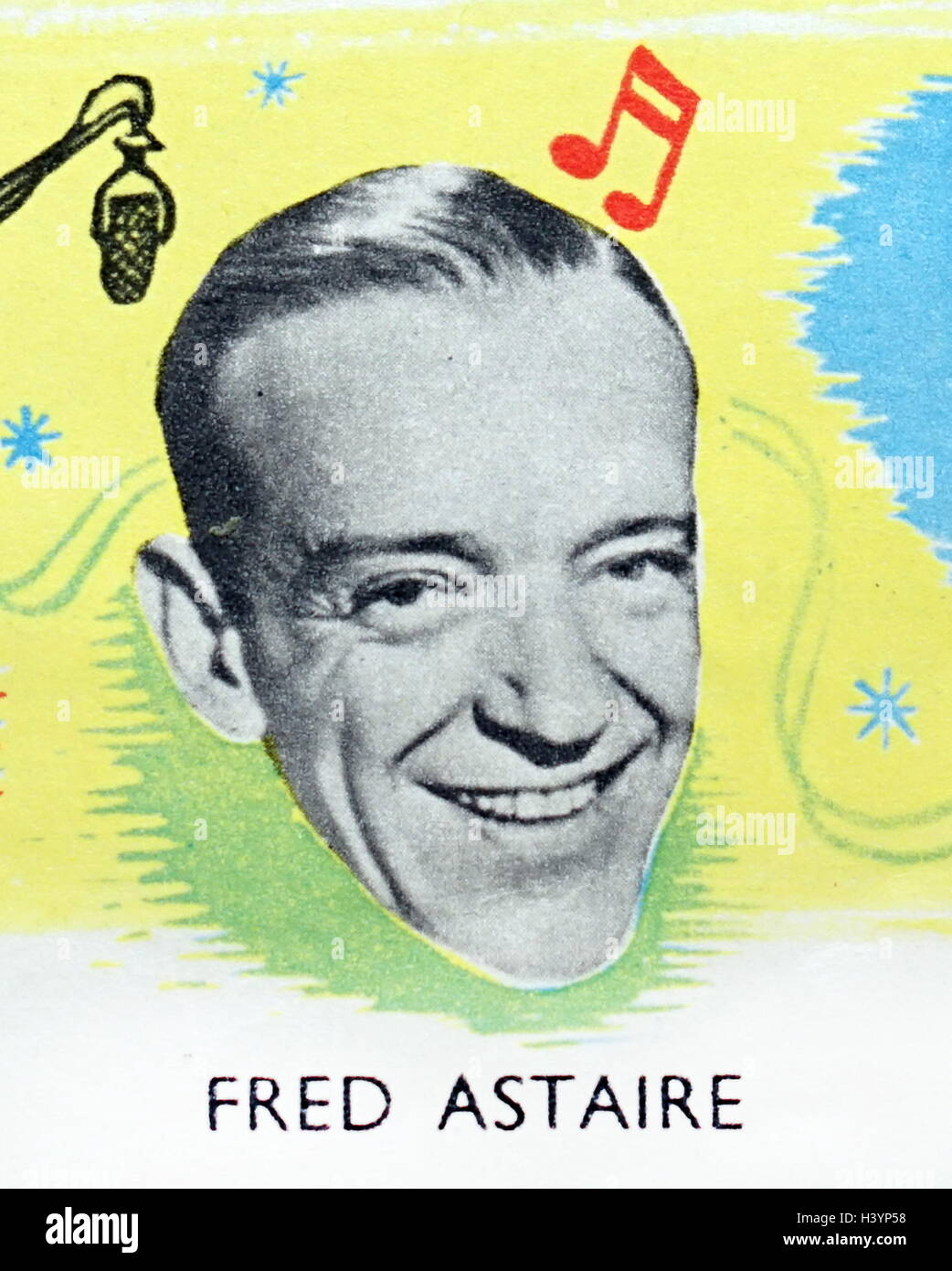 Photograph of Fred Astaire - Stock Image