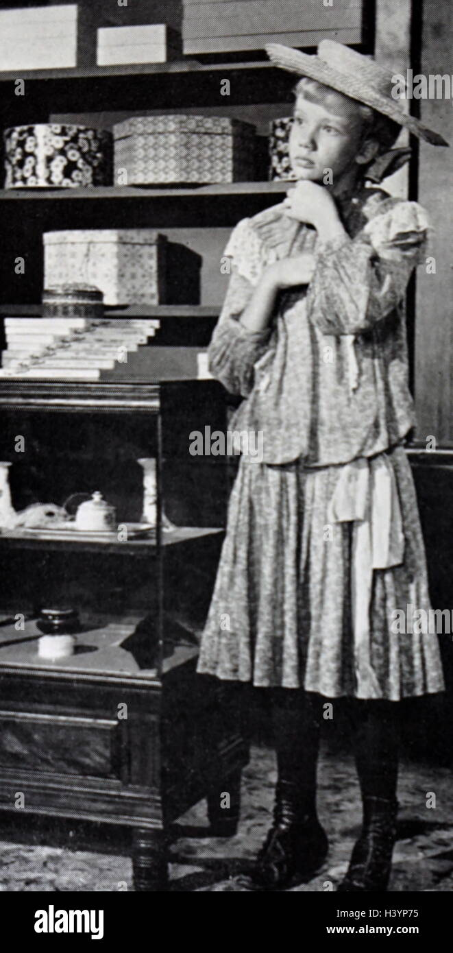 Film still from 'Pollyanna' starring Hayley Mills (1946-) an English actress. Dated 20th Century - Stock Image