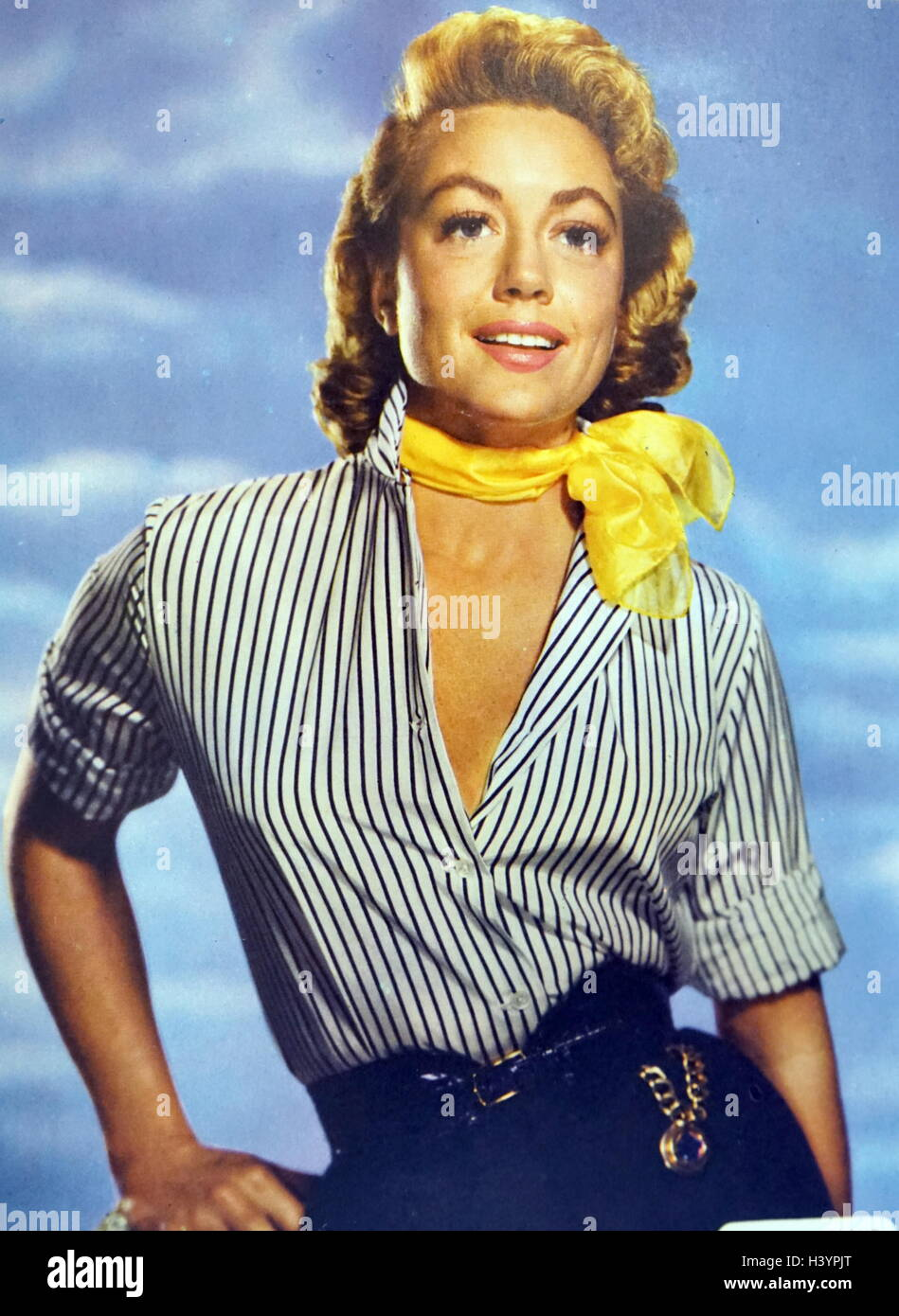 Photograph of Dorothy Malone (1925-) an American actress. Dated 20th Century - Stock Image