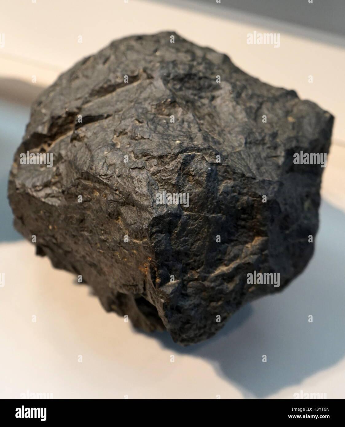 A sample of Oceanic Basalt - Stock Image