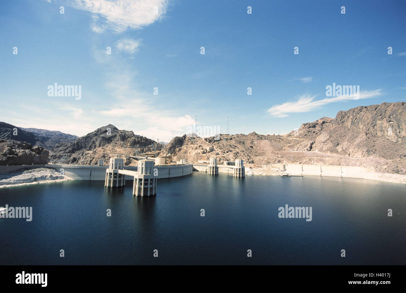The USA, Nevada, Las Vegas, Hoover Staudamm, reservoir, the United States America, west coast, Colorado River, pent Stock Photo