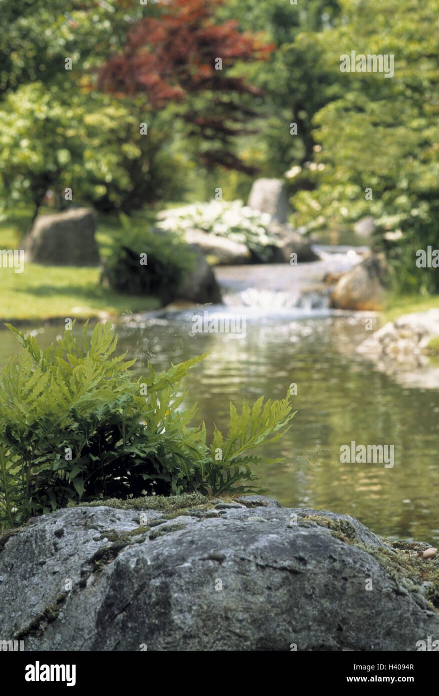 Japanese Garden Hasselt Stock Photos & Japanese Garden