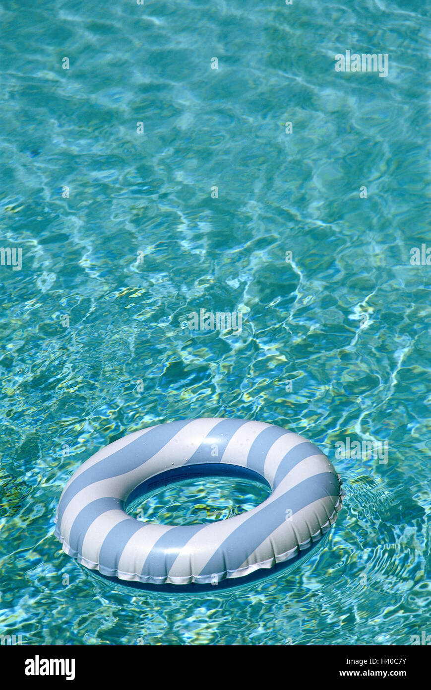 Pool water surface swimming tyre swimming pool water rescue
