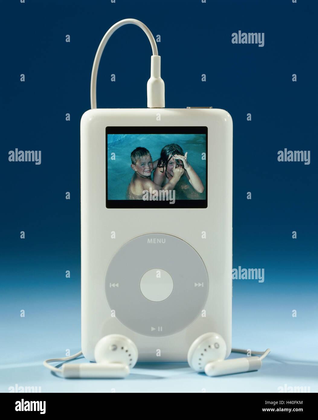 MP3-Player, Apple iPod photo, Display, Kinderfoto, no