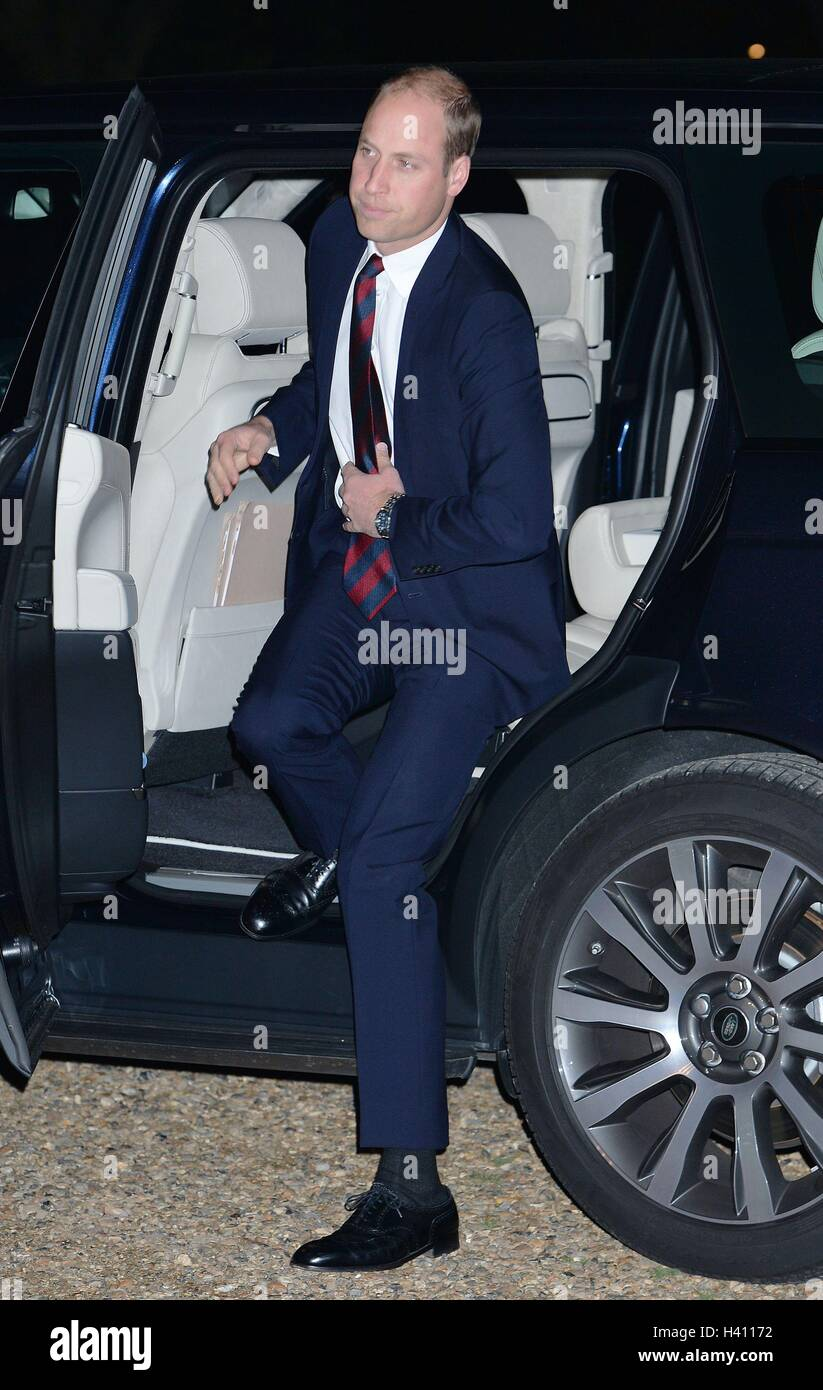 The Duke of Cambridge arrives at the MOD Employer Recognition Scheme Gold Awards being held at the Royal Hospital - Stock Image