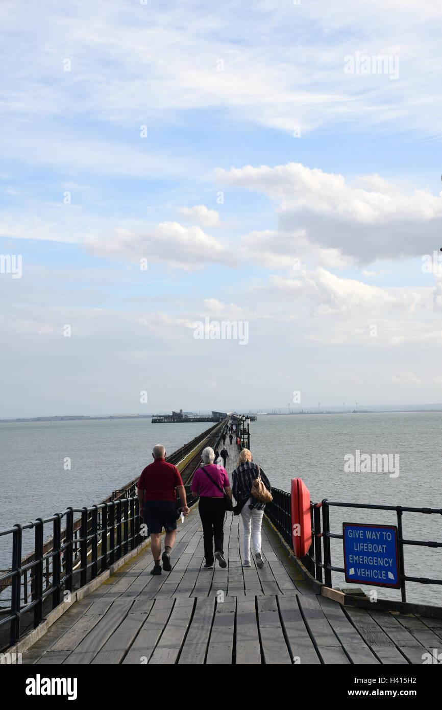 Southend pier, Essex UK - Stock Image