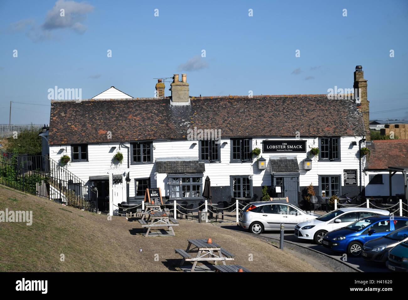 Canvey Island, Essex UK - Lobster Shack pub - Stock Image