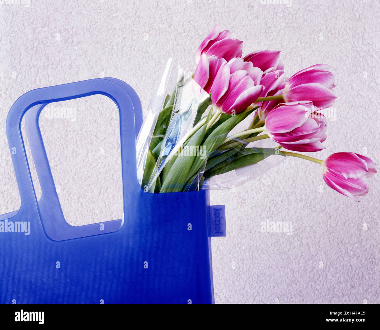 Berömda Shopping bag, flower bouquet, tulips only editorially! Concept GC-66